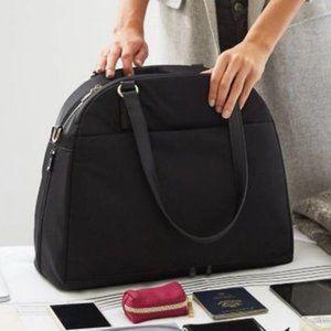 Lo & Sons OMG Bag Black/Lavender/Silver